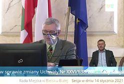 Bielsko-Biała. Sesja rady miasta trwała pół godziny. Zdecydował błąd pisarski