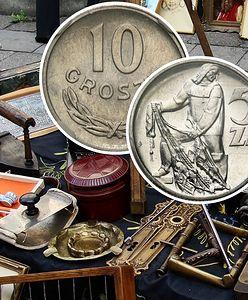 Polacy w kolejce do antykwariatu. Które monety PRL warte są tysiące złotych?