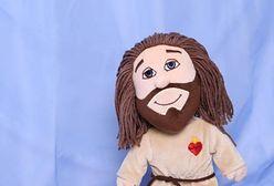 """Jezus w promocji za 100 złotych, zgodny z europejską normą. """"Doskonały prezent dla noworodka"""""""