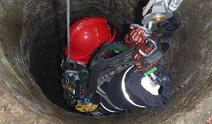Studnia miała ponad 30 metrów głębokości