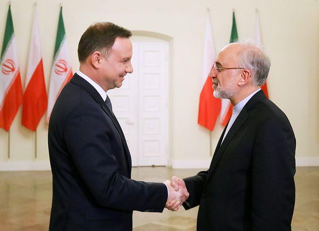 W 2016 r. prezydent Duda przyjął w Warszawie wiceprezydenta Iranu