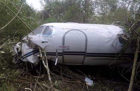 Samolot pełen kokainy roztrzaskał się o ziemię. Wartość? Nawet 500 milionów złotych