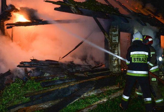 Pożar we wsi Więciórka. To mogło być podpalenie (FOT. East News)