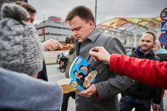 Szymon Hołownia spotkał się z mieszkańcami Gdańska.