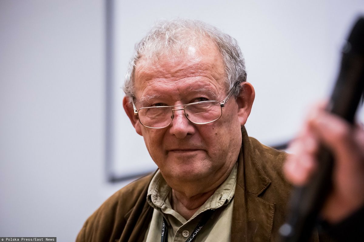 "Adam Michnik, redaktor naczelny ""Gazety Wyborczej"""