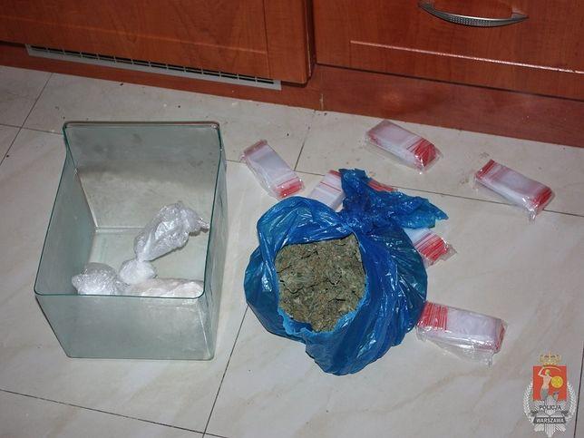 Ponad pół kilograma kokainy i marihuany nie trafi na rynek [ZDJĘCIA]
