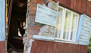 Zniszczenia w Milówce