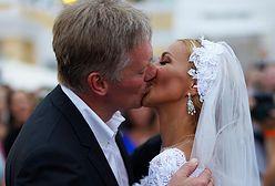 """Rosyjski """"ślub roku"""". Rzecznik Władimira Putina ożenił się"""
