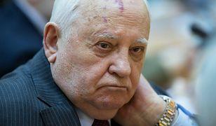 Gorbaczow o eskalację napięcia oskarża Putina i Trumpa