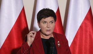 Beata Szydło przebrała się u prezesa PiS