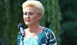 Agata Kornhauser-Duda z pomocą charytatywną. Nie wszystkim spodobała się inicjatywa pierwszej damy