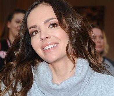Anna Wendzikowska włożyła zamszowe botki na jesień. Kosztowały 349 zł