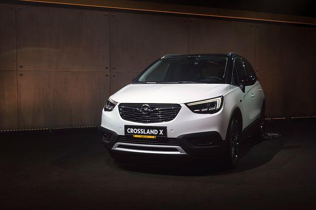 Opel Crossland X - premiera w Polsce