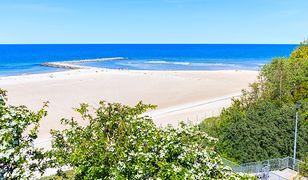 Plaża w Jarosławcu cieszy się coraz większym zainteresowaniem turystów