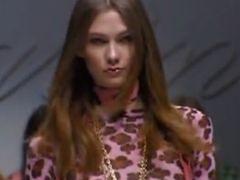 Karlie Kloss - młodziutka modelka