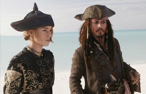 """Keira Knightley w  japońskim zwiastunie nowych """"Piratów z Karaibów"""""""