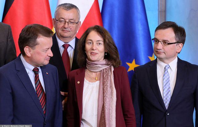 Katarina Barley krytykowała kraje europejskie za nieprzestrzeganie zasad praworządności