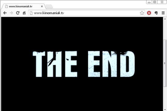 Kinomaniak.tv zamknięty. Co się stało?