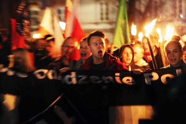 Przemarsz nacjonalistów z NOP