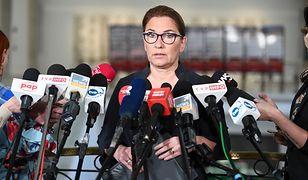 Beata Mazurek ostro skrytykowała PO i jej lidera