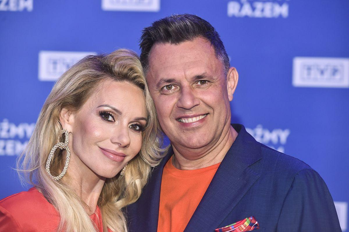 Małgorzata Opczowska i Jacek Łęski zaręczyli się w czerwcu, a ślub był w sierpniu