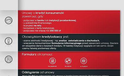 UOKiK zabrał głos ws. umowów kredytowych przez internet