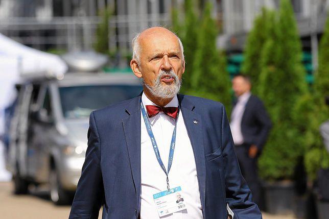 Janusz Korwin-Mikke dwa razy startował w wyborach na prezydenta Warszawy