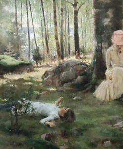 """Warszawa. """"Dzieci z lasu"""" wróciły. Cenny obraz od wojny leżał na strychu"""