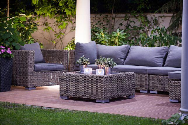 Dopasuj meble ogrodowe do wielkości tarasu lub balkonu