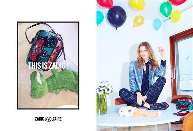 Zadig&Voltaire - kampania jesień zima 2016