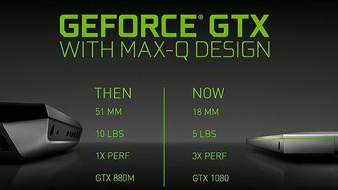 Nvidia Max-Q: pokaz możliwości smukłych laptopów do grania