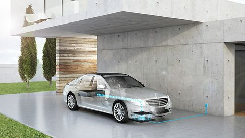 Elektryczne auta Mercedesa naładujemy bezprzewodowo