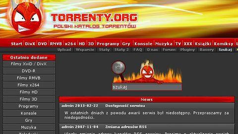 Koniec Torrenty.org. Po ponad 10 latach polska torrentownia zniknęła z Sieci (aktualizacja)