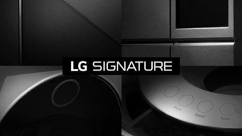LG na #CES2016: Signature, czyli telewizor i inne produkty bardzo premium