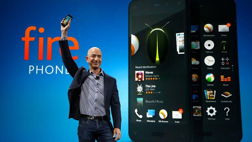 Amazon prezentuje swój pierwszy smartfon – poznajcie Fire Phone