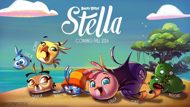 Premiera dziewczyńskiego Angry Birds Stella we wrześniu