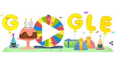 Google ma 19 lat – w wyszukiwarce czekają kultowe gry, quizy i doodle