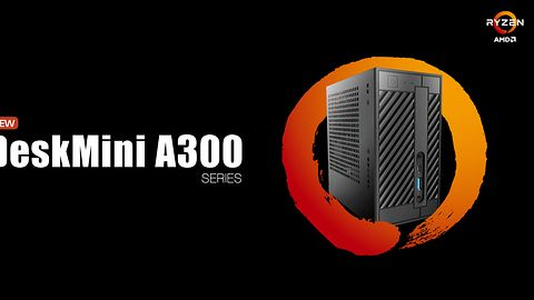 """ASRock DeskMini A300, czyli prawie """"NUC"""" z procesorem AMD Ryzen i grafiką Radeon Vega"""