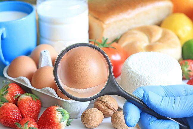 Najczęściej występujące alergie pokarmowe