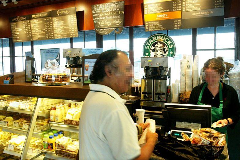 USA. Groził pracownicy Starbucksa. Nie wiedział, z kim miał do czynienia