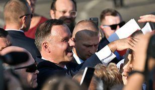 Prezydent Andrzej Duda udzielił dość zaskakującej odpowiedzi jednemu z uczestników spotkania w Zgorzelcu
