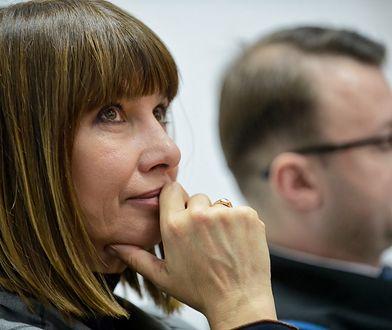 Grażyna Wolszczak pozwała Skarb Państwa za niewystarczającą walkę ze smogiem.