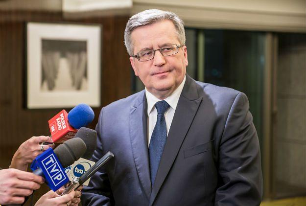 """Bronisław Komorowski nie wystartuje w majowych wyborach do europarlamentu. """"Moje plany się nie zmieniły"""""""