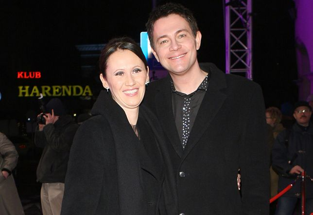 Krzysztof Ibisz i Anna Nowak-Ibisz w 2008 roku