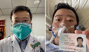 Koronawirus z Chin. Dr Li Wenliang nie żyje. Zabił go wirus, przed którym ostrzegał innych