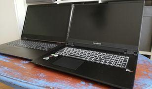 Po lewej Lenovo Y740, a po prawej Hyperbook SL704