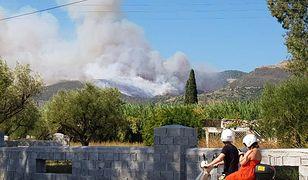 Zakynthos. Ogromne pożary na greckiej wyspie