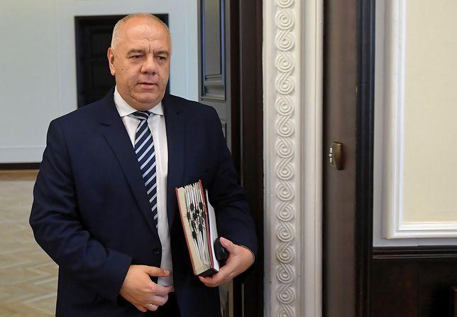 Jacek Sasin zapewnił, że cieszy się z Nagrody Nobla przyznanej Oldze Tokarczuk