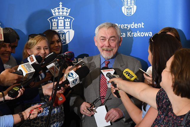Jacek Majchrowski wygrał proces z Łukaszem Gibałą