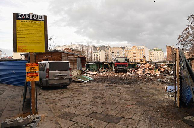 Warszawa. Modernizacja Bazaru Różyckiego na Pradze-Północ